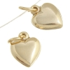 Gold-filled 14kt Charms Heart 8mm